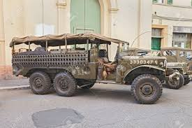old military jeep truck faenza italy november 2 old american truck dodge wc 52 world
