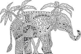 coloring pages coloring pages adults difficult animals