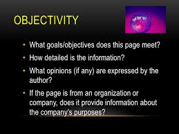 evaluating online sources goal identify criteria to evaluate