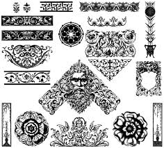 ornaments free illustrator vector pack free