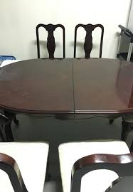 round table santee ca dining table with 6 chairs furniture in santee ca