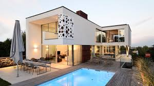 Stylish House by Stylish Villa Overlooking Vienna Dc Towers By Architekt Zoran