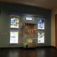 a2 property led window display acrylic lighting panels real estate