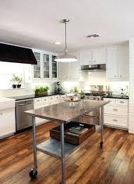metal kitchen island tables metal kitchen island grey rectangle modern metal kitchen islands