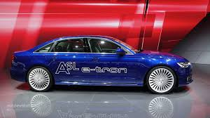 Audi A6 Release Date Audi A6 L E Tron Plug In Hybrid Debuts At Auto Shanghai 2014