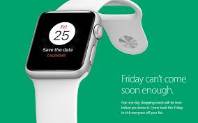 iwatch black friday apple hints at one day black friday sale but will its discounts