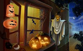 background halloween art grab a spooky halloween desktop theme for your computer brand