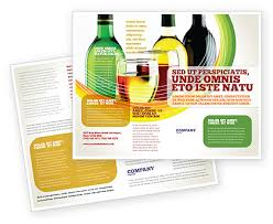 wine brochure template white wine tasting brochure template design and layout