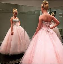 quinceanera dresses 2016 2016 new pink beaded crystals quinceanera dresses sweet 15 16