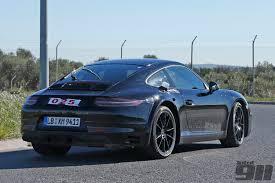 porsche 911 v8 exclusive porsche 992 spotted testing already total 911