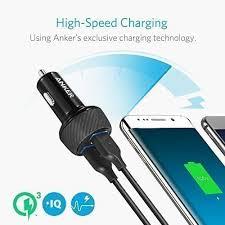 Anker Dual Port Car Charger Deal Anker U0027s Quick Charge 3 0 Dual Port Car Charger For 22 3