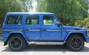 blue mercedes rent mercedes g63 blue dubai uae
