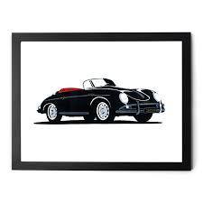 porsche 356 speedster manual designs porsche 356 speedster giclée print bespoke post