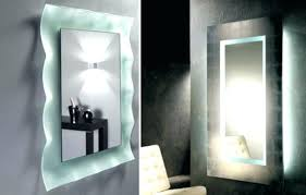 lighted bathroom wall mirror bathroom lighted bathroom vanity wall mirror contemporary on inside