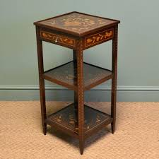 victorian style side table side table victorian side table decorative elegant dutch marquetry