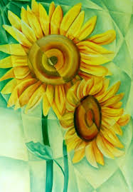 cubism flower painting 58 best fractured painting images on heaven