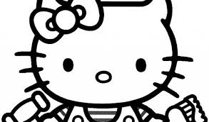 kitty coloring pages christmasfree coloring pages kids