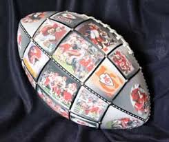 engraved football gifts photo collage football personalized football gift