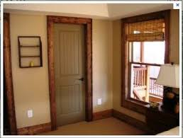 image detail for painted interior doors with stained trim