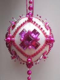 how to make a ariel christmas ornament ball tutorial diy