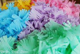 streamers paper how to make fringed crepe paper streamers paper crush
