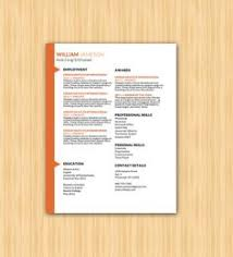 professional grid resume template six colors modern resume