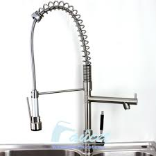 professional kitchen faucet brushed nickel pull out kitchen faucet 0324e wholesale faucet e