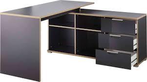 Schreibtisch Metall Bürokombination In Anthrazit Hochwertige Abs Kanten