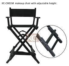 Height Adjustable Chair New Design Used Cheap Portable Aluminum Folding Director Chair