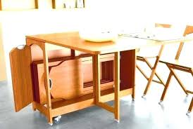 table with storage and chairs table with chair storage folding dining table and chairs folding