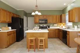 Colors For A Kitchen With Oak Cabinets Kitchen Ideas Kitchen Colors With Wood Cabinets Paint Honey Oak