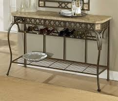sofa table design wrought iron astonishing bohemian with wood top
