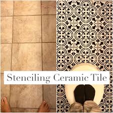 Ceramic Tiles For Bathroom by Best 20 Paint Ceramic Tiles Ideas On Pinterest How To Paint