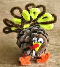 how to make a turkey out of a pine cone turkey craft for kids pine cone turkeys crafts unleashed pine