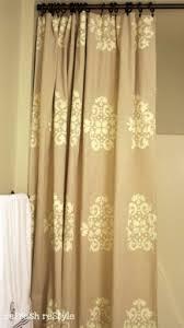 designer shower curtain rings foter