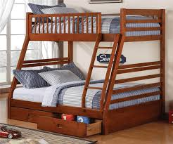 twin over full bunk bed with trundle full bunk beds u2014 modern