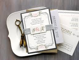 wedding invitation suites deco wedding invitation suite