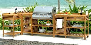 cuisine d été en bois cuisine d ete en bois clients cuisine ete exterieure bois