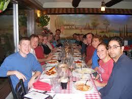 family dinner at louisa s emily birt
