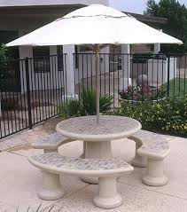 Concrete Patio Table Concrete Patio Table Concrete Garden Furniture For Sale In
