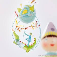 mobile chambre enfant mobiles de décoration gros z énormes schlumpeters signés l oiseau