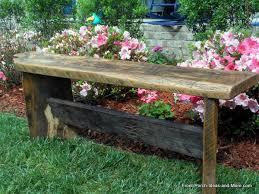 diy garden bench project