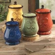 fleur de lis kitchen canisters set of 3 turquoise fleur de lis kitchen canisters set tuscan large