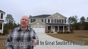 southern homes floor plans beaujolais floorplan built by great southern homes in columbia and