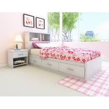 Bookcase Bed Full Buy Full Mate U0027s Bed With Bookcase Headboard And Storage