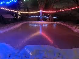 Backyard Hockey Rink by My Backyard Ice Rink 2015 Imgur