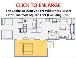 Disney Vacation Club Floor Plans Review The Cabins At Disney U0027s Fort Wilderness Resort Fort