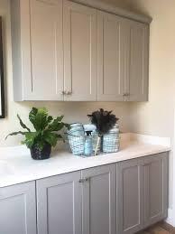 dove grey paint kitchen cabinets craftsman dove gray laundry room renovation modern