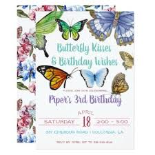 butterfly kisses birthday card