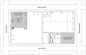 expo floor plan facility details u2013 brooklyn expo center